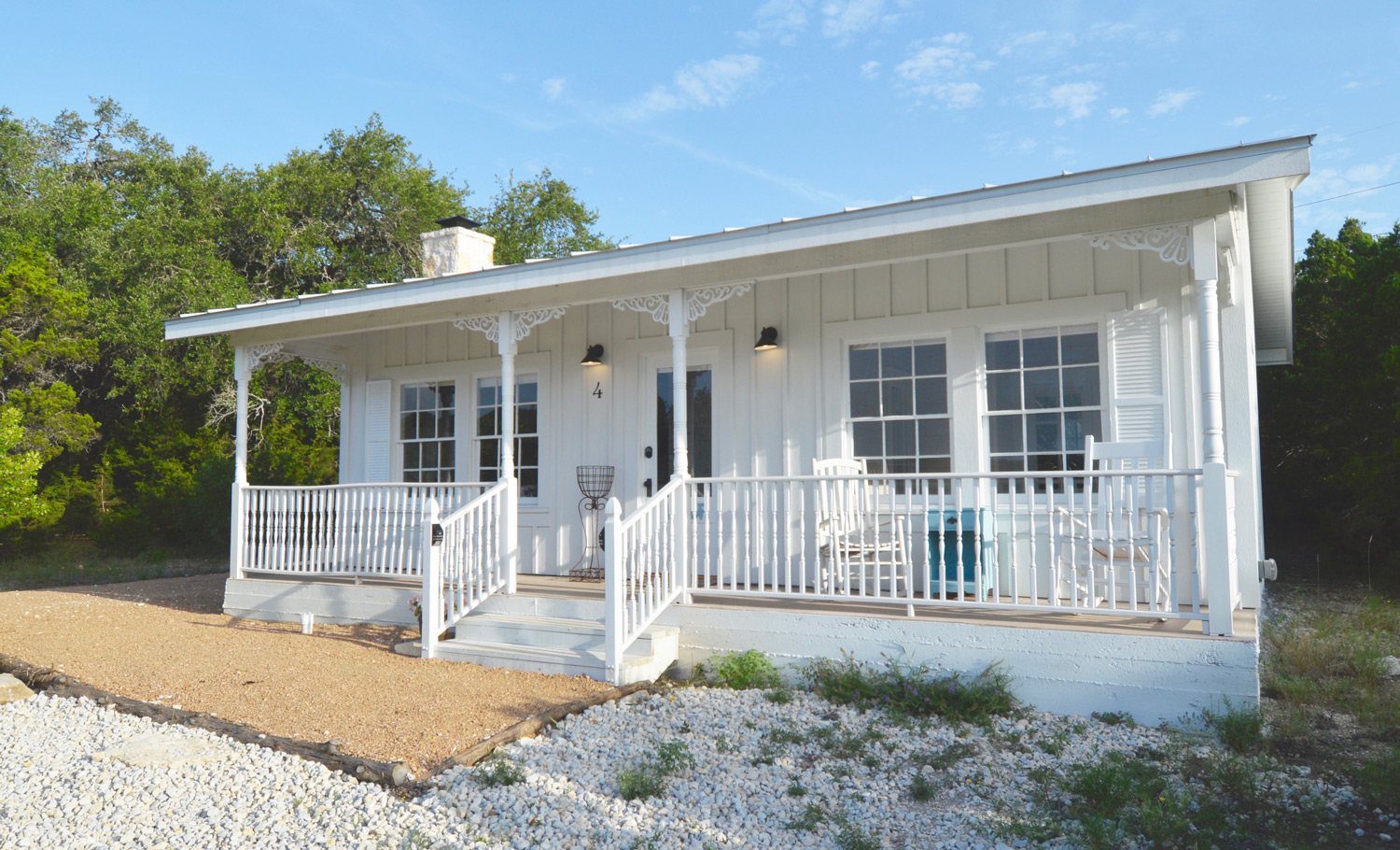 texas cottages home back gallery park porch wimberley pin model casual